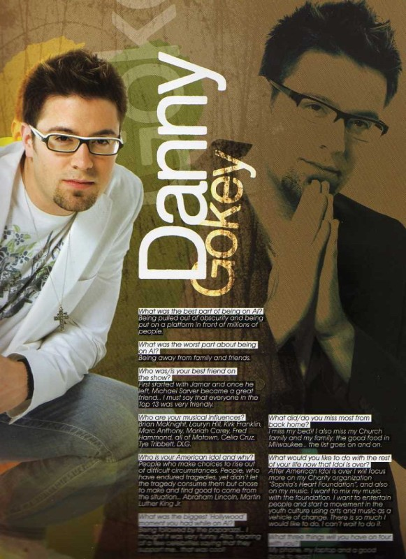 Danny Gokey -- American Idol Tour Program Interview