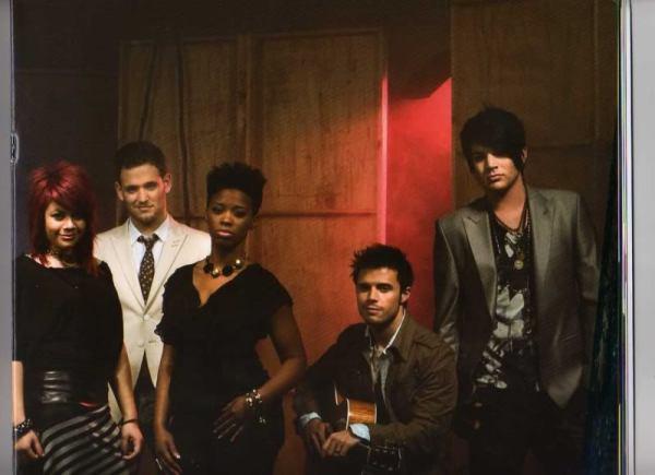 Allison Iraheta, Matt Giraud, Lil Rounds, Adam Lambert