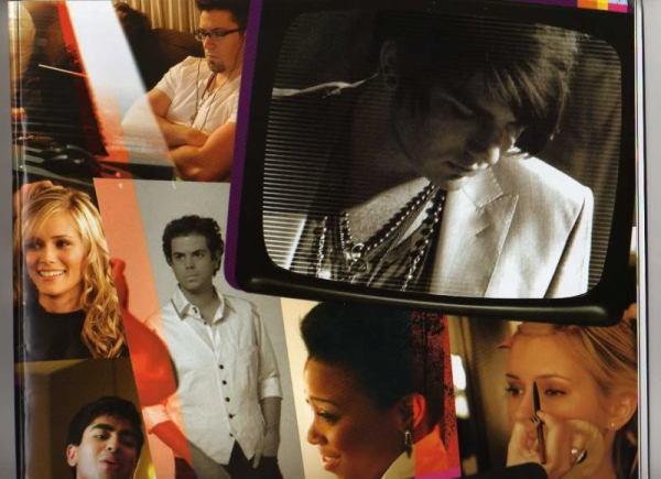 Images from AI Tour Program (Adam Lambert, Megan Joy)