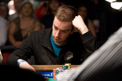 Antoine Saout (France) at the WSOP Featured Table