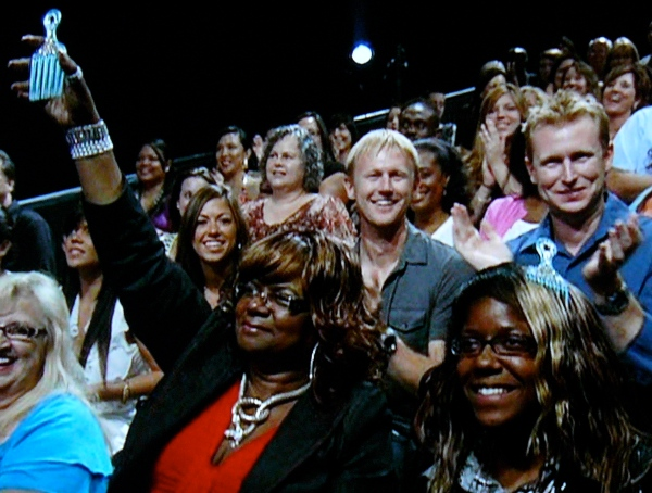 Ade's family representing the Pick on SYTYCD