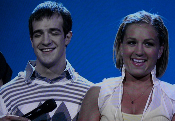 SYTYCD -- Evan and Randi after hip hop routine about getting knocked up