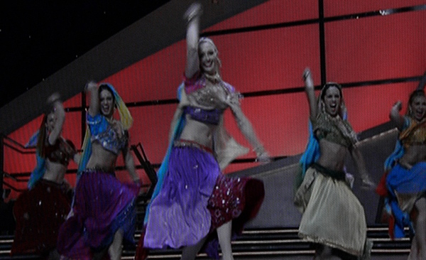 SYTYCD Top 5 girls dancing Bollywood