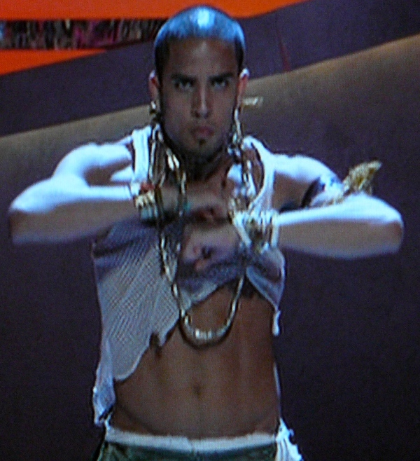 SYTYCD Top 10 -- Kupono kind of looks like Billy Zane in fishnet