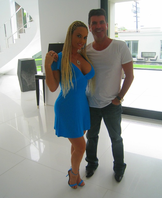 The Goddess Coco and Simon Cowell