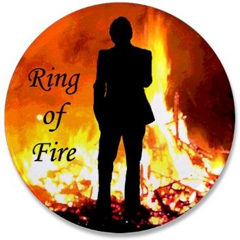 Adam Lambert Ring of Fire button