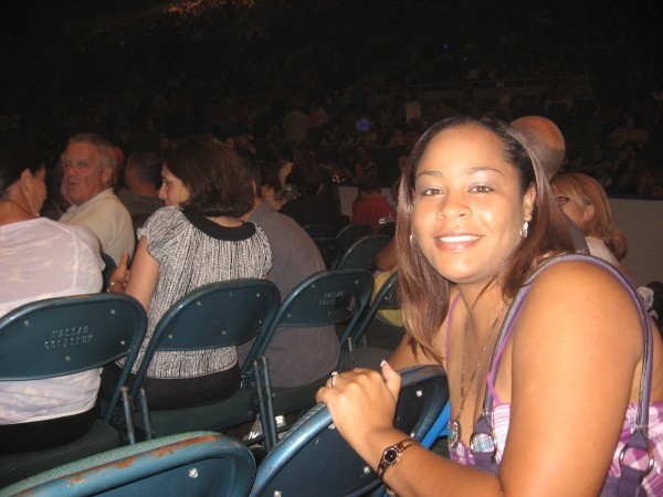 LeighKat at the American Idol Tour -- August 11, 2009 -- Long Island