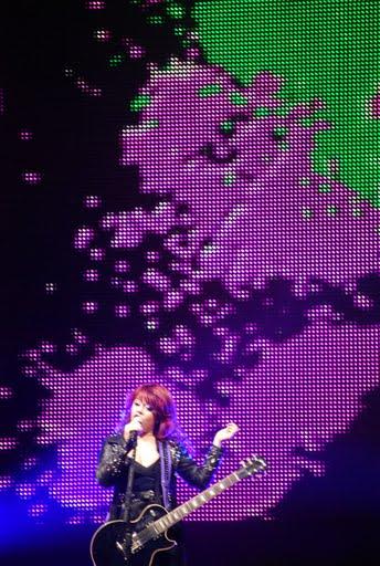 American Idol Tour Memphis: Allison Iraheta