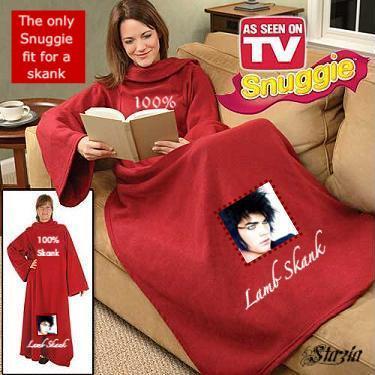 Adam Lambert Snuggie