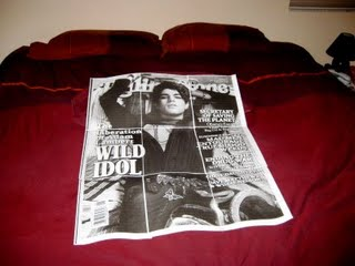 Adam Lambert bedspread