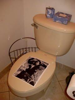Adam Lambert Toilet Seat Cover