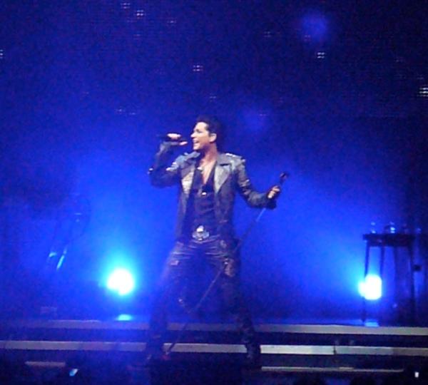 Photo of Adam Lambert (Boston) for Wicked Glitter