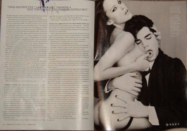 Adam Lambert -- Details Magazine (December 2009) #3