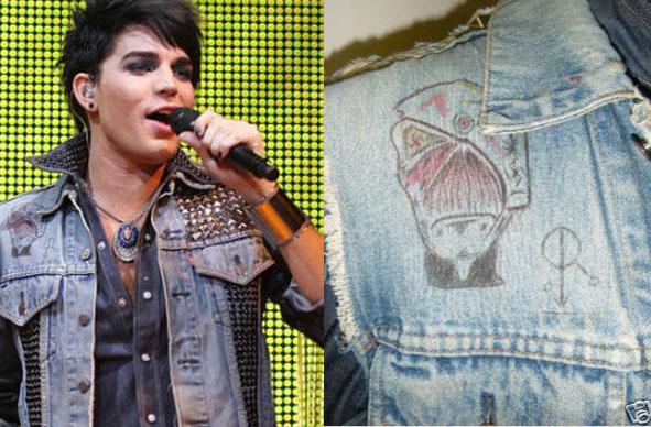 Adam Lambert's Swastika Jacket