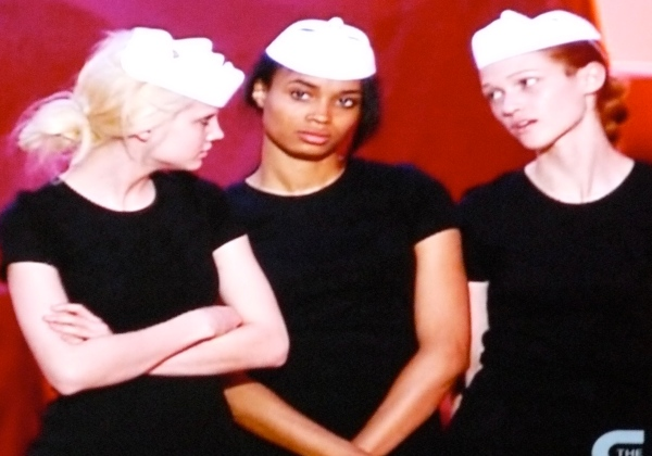 "ANTM ""Dance With Me"": Erin, Ashley and Nicole make bitchfaces"