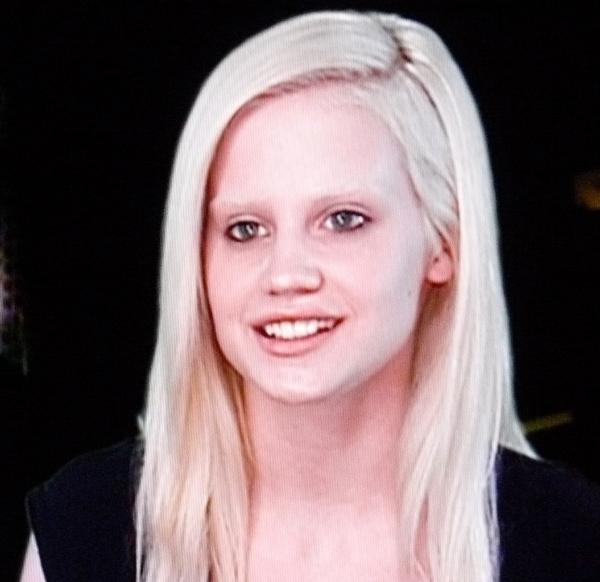 """ANTM Erin looks like the Gelfling from """"The Dark Crystal"""""""