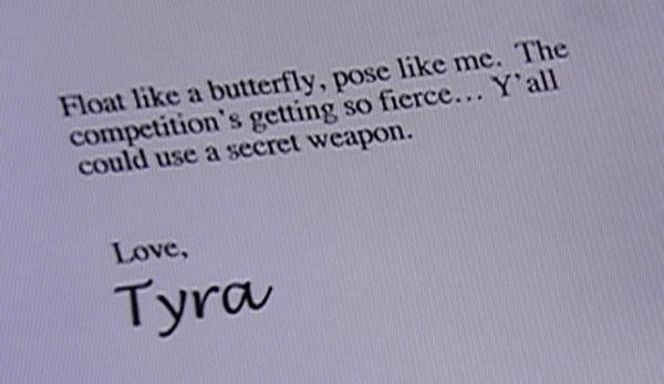 ANTM: Tyra Mail