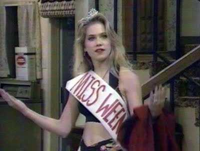 Kelly Bundy would have tossed that bra at Adam Lambert