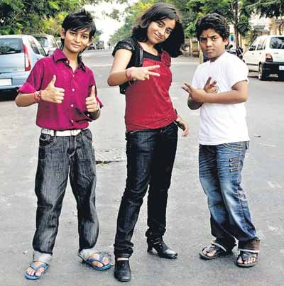 (l-r) The Top 3 -- Yatharth Rastogi, Hemant Brijwasi and Shreyasi Bhattacharjee