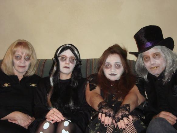Family of Glam Zombies?