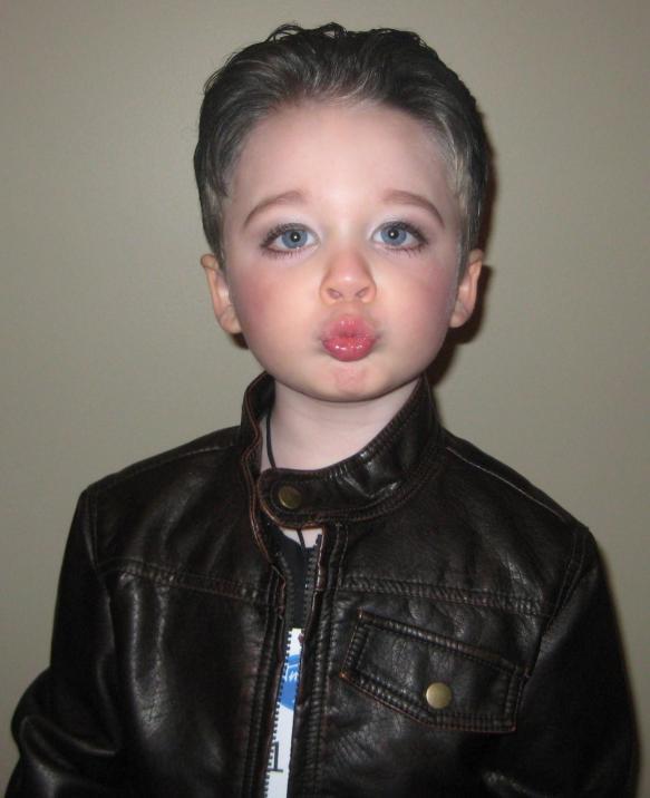 Adam Lambert as a Kid Child Adam Lambert Costume